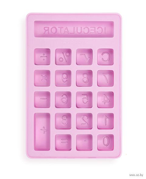 "Форма для льда ""Ледокалькулятор"" — фото, картинка"