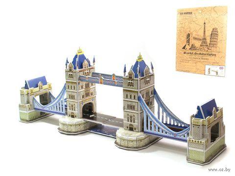 """Сборная модель из картона """"Тауэрский мост"""""""