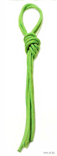 Скакалка для художественной гимнастики Pro 10101 (зелёная) — фото, картинка