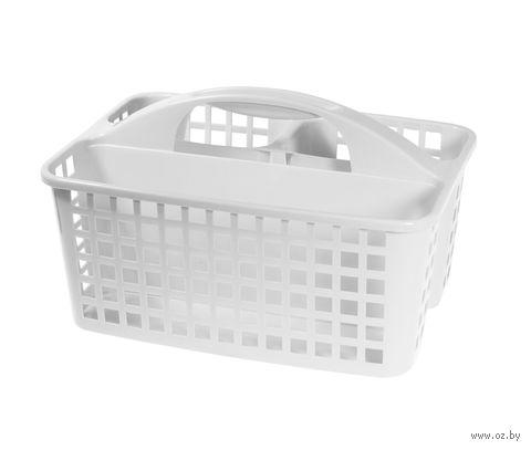 Органайзер для моющих средств (310х230х185 мм; белый) — фото, картинка