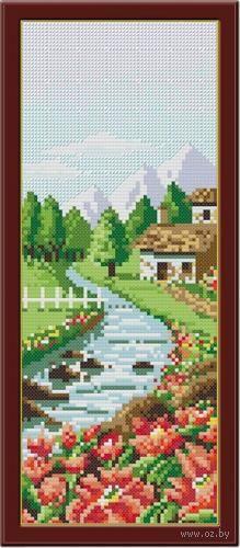 "Алмазная вышивка-мозаика ""Весна"" (140х360 мм) — фото, картинка"
