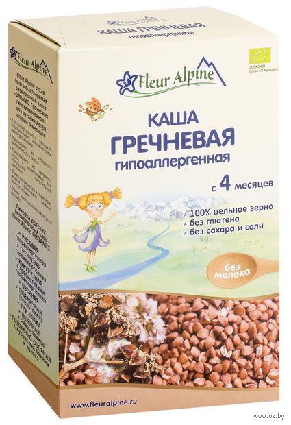 """Детская каша Fleur Alpine Organic """"Гречневая гипоаллергенная"""" (175 г) — фото, картинка"""