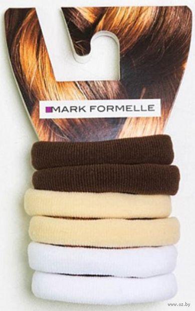 """Набор резинок для волос """"Шоколадный"""" (6 шт.) — фото, картинка"""