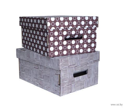 "Набор коробок ""Kardeco"" (2 шт.; коричневые) — фото, картинка"