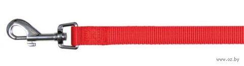 """Поводок нерегулируемый для собак """"Classic"""" (размер L-ХL, 100 см, красный, арт. 14093)"""