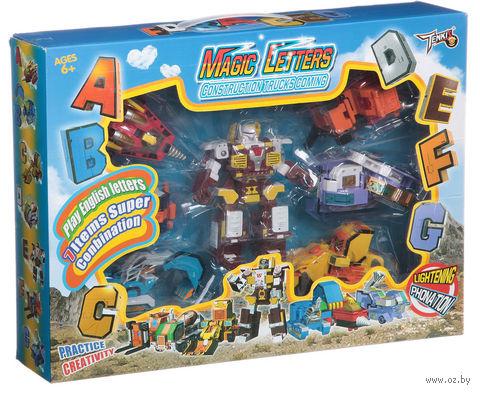 """Набор роботов-трансформеров """"7 букв от А до G"""" (арт.  G2040)"""