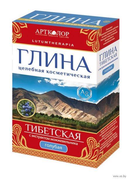 """Глина голубая для лица и тела """"Тибетская"""" (100 г)"""