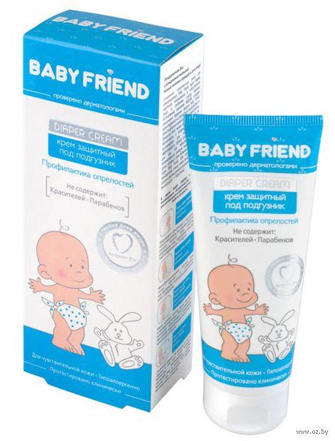 """Крем под подгузник детский """"Baby friend. Защитный"""" (75 мл) — фото, картинка"""