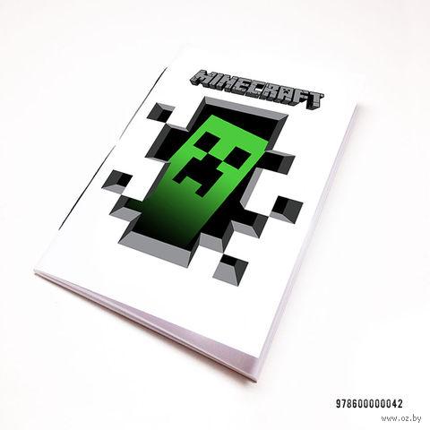 """Блокнот """"Майнкрафт"""" (А7; арт. 042) — фото, картинка"""