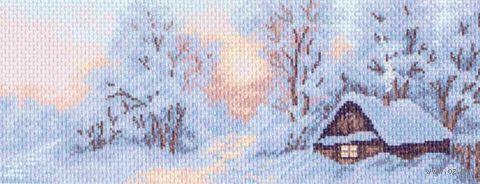 "Канва с нанесенным рисунком ""Морозное утро"""