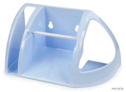 Держатель для туалетной бумаги (светло-голубой) — фото, картинка