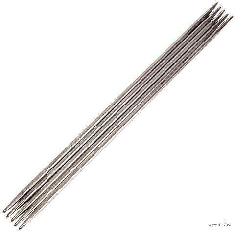 Спицы чулочные для вязания (металл; 3,5 мм; 20 см) — фото, картинка