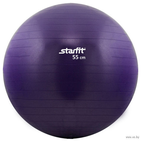 Мяч гимнастический GB-101 (55 см; фиолетовый) — фото, картинка