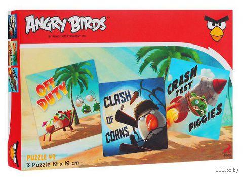 """Набор пазлов """"Angry Birds"""" (49 элементов)"""