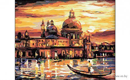 """Картина по номерам """"Вечерняя Венеция"""" (400x500 мм) — фото, картинка"""