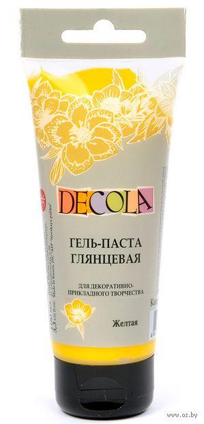 """Гель-паста """"Decola"""" (желтая; 100 мл) — фото, картинка"""