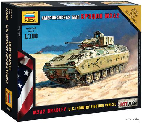 """Сборная модель """"Американская БМП """"Бредли"""" М2А2"""" (масштаб: 1/100) — фото, картинка"""