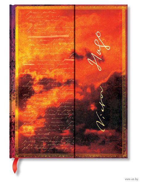 """Записная книжка Paperblanks """"Виктор Мари Гюго. Отверженные"""" в линейку (180х230 мм) — фото, картинка"""