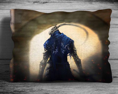 """Подушка """"Dark Souls"""" (арт. 2; 28х38 см) — фото, картинка"""