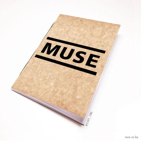 """Блокнот крафт """"MUSE"""" А6 (091)"""