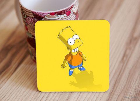 "Подставка под кружку ""Симпсоны"" (art. 1)"