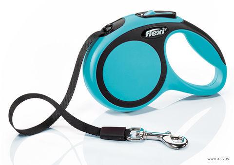 """Поводок-рулетка для собак """"New Comfort"""" (размер XS; до 12 кг; синий)"""