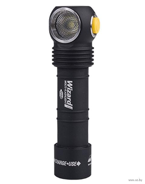 Фонарь Armytek Wizard Pro Magnet USB XHP50 (тёплый свет) — фото, картинка