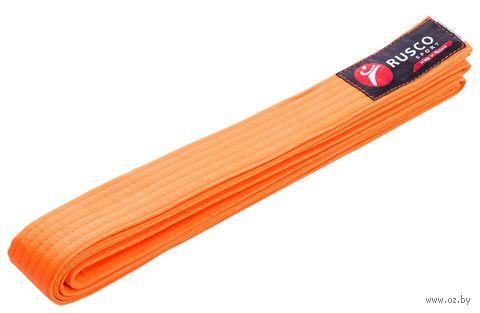 Пояс для единоборств (260 см; оранжевый) — фото, картинка