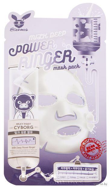"Тканевая маска для лица ""Молочная"" (23 мл) — фото, картинка"
