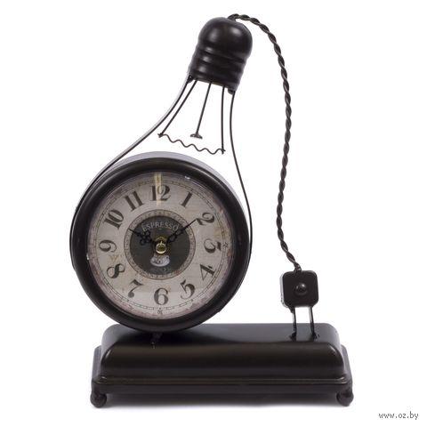 """Часы настольные """"Лампочка"""" (26х20х6,5 см) — фото, картинка"""