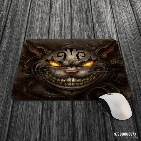 """Коврик для мыши большой """"Чешир"""" (873)"""