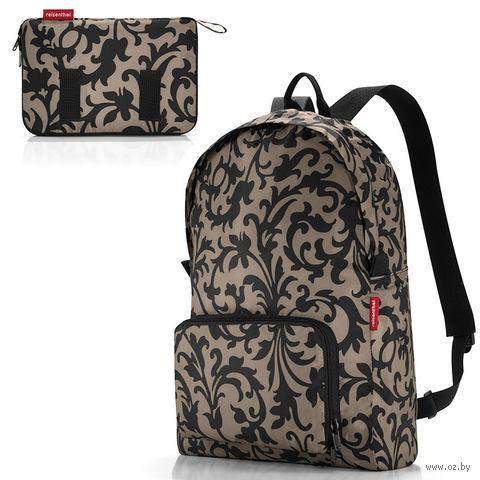 "Рюкзак складной ""Mini Maxi. Baroque Taupe"" (14 л; коричневый) — фото, картинка"