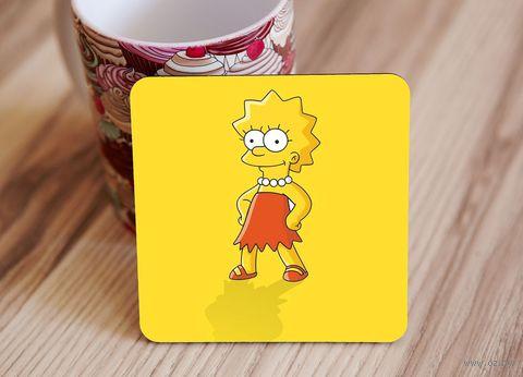 "Подставка под кружку ""Симпсоны"" (арт. 2) — фото, картинка"