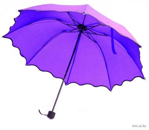 Зонт с проявляющимся рисунком (фиолетовый) — фото, картинка