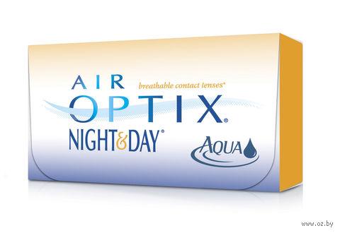 """Контактные линзы """"Air Optix Night and Day Aqua"""" (1 линза; +1,5 дптр) — фото, картинка"""