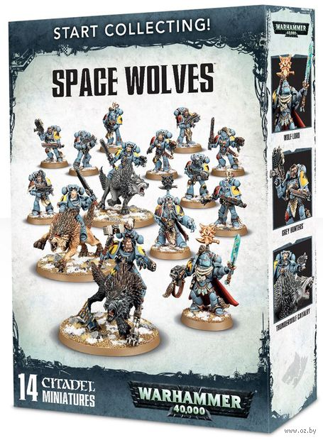Warhammer 40.000. Space Wolves. Start Collecting (70-53) — фото, картинка