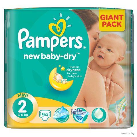 """Подгузники """"Pampers New Baby Mini"""" (3-6 кг, 94 шт, арт. 0001010659)"""