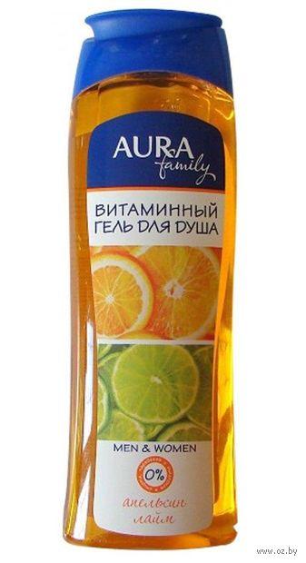 """Гель для душа """"Aura. Апельсин и лайм"""" (260 мл) — фото, картинка"""