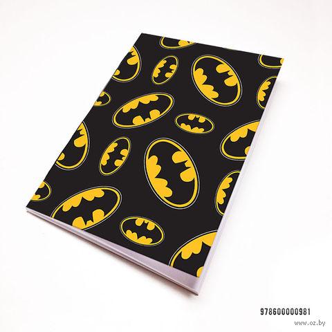 """Блокнот белый """"Бэтмен"""" А7 (981)"""