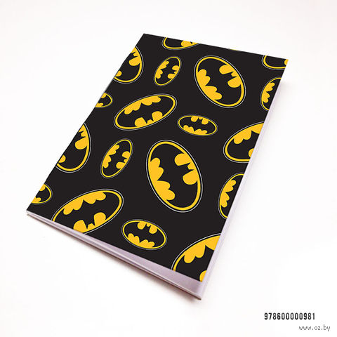 "Блокнот белый ""Бэтмен"" (А7; арт. 981) — фото, картинка"