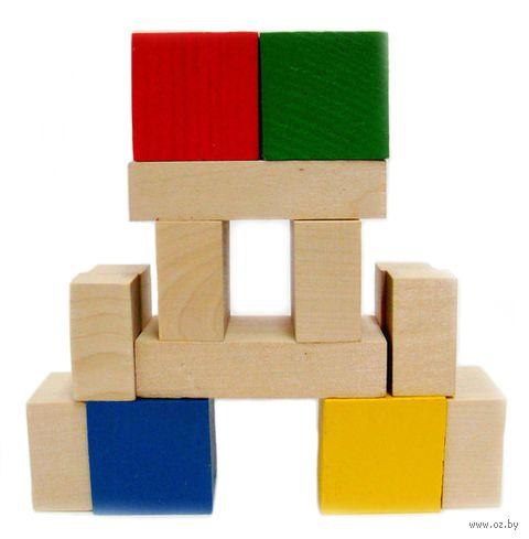 """Конструктор """"Кубик и его части"""" (14 деталей) — фото, картинка"""