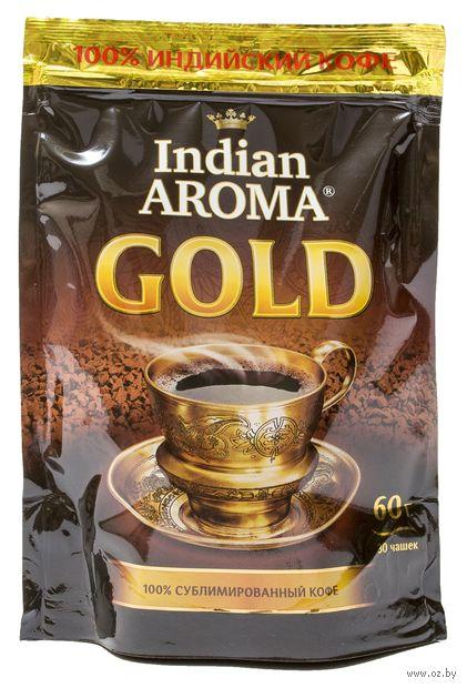 """Кофе растворимый """"Indian Aroma. Gold"""" (60 г) — фото, картинка"""