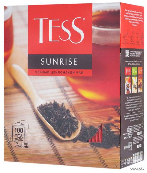 """Чай черный """"Tess. Sunrise"""" (100 пакетиков) — фото, картинка"""