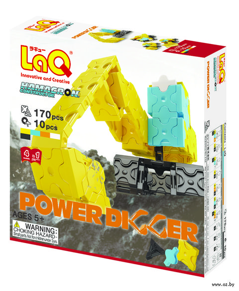 "Конструктор ""LaQ. Power Digger"" (170 деталей)"