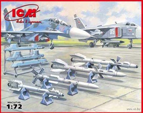 """Советское авиавооружение """"воздух-воздух"""" (масштаб: 1/72) — фото, картинка"""
