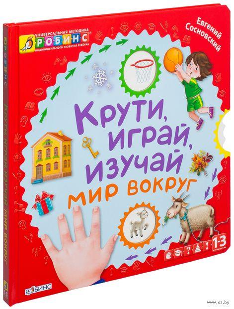 Крути, играй, изучай мир вокруг. Книжка-игрушка. Евгений Сосновский