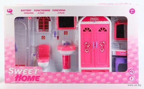 "Набор мебели для кукол ""Туалетная комната"""