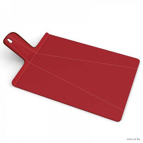 """Доска-трансформер разделочная """"Chop2Pot Plus"""" (480х270х15 мм; красная)"""