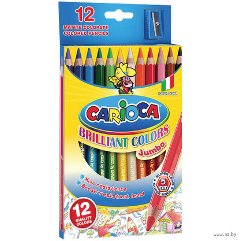 "Цветные карандаши ""Jumbo"" (12 цветов)"