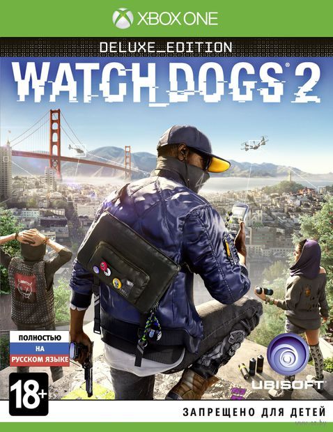 Watch_Dogs 2. Deluxe edition (Xbox One)